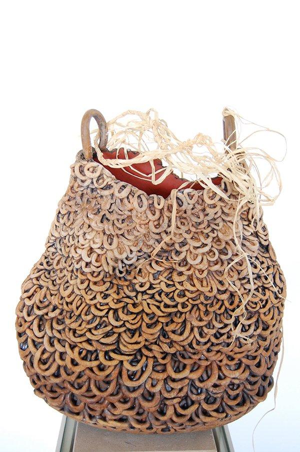 Basket | Earthenware, oxides, glaze
