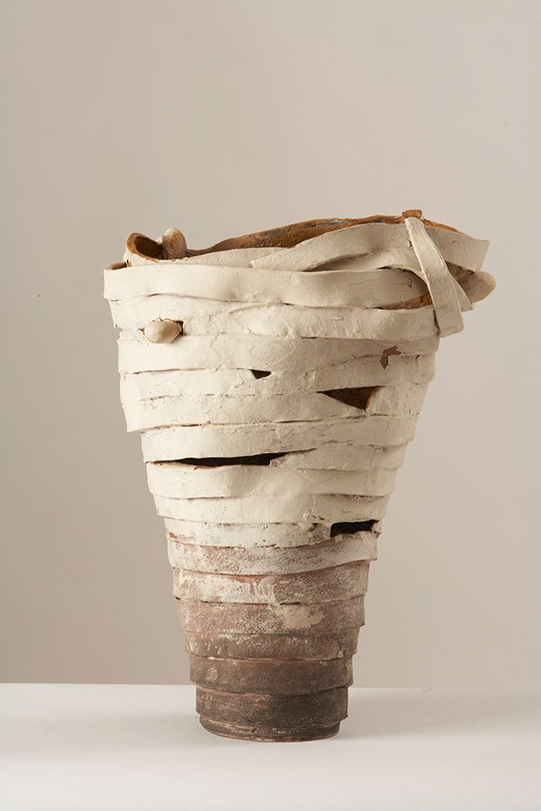 Untitled | Earthenware, with engobe and oxides  copy