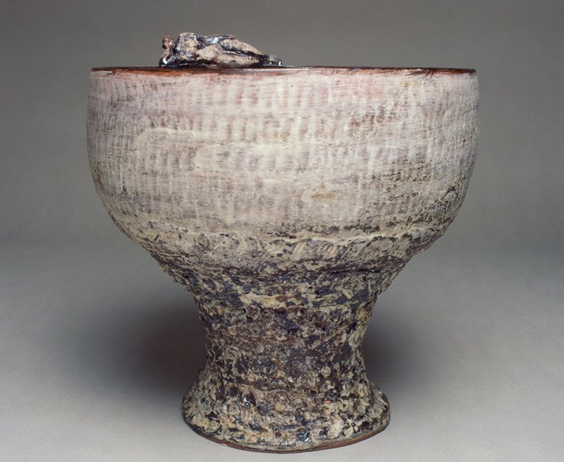 Narcisus | Earthenware, oxides, glaze