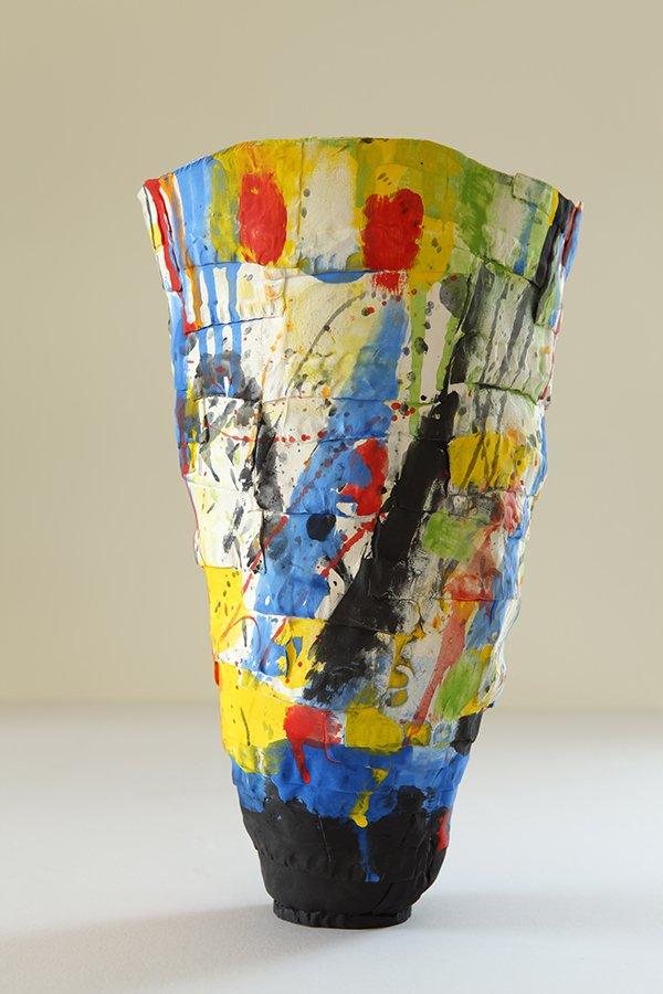 Spring | Porcelain, stains, white glaze