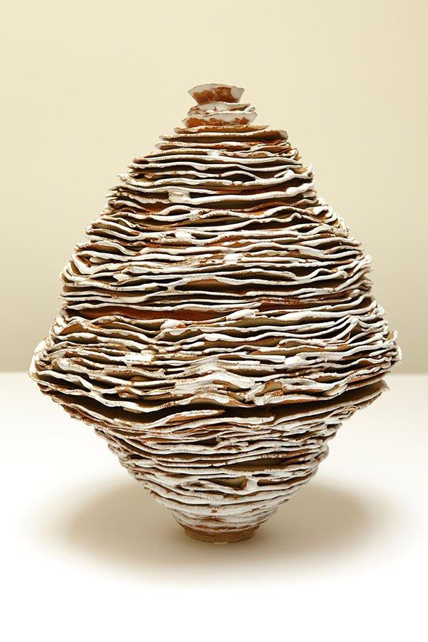 Untitled | Stoneware, crank, oxides, white glaze copy