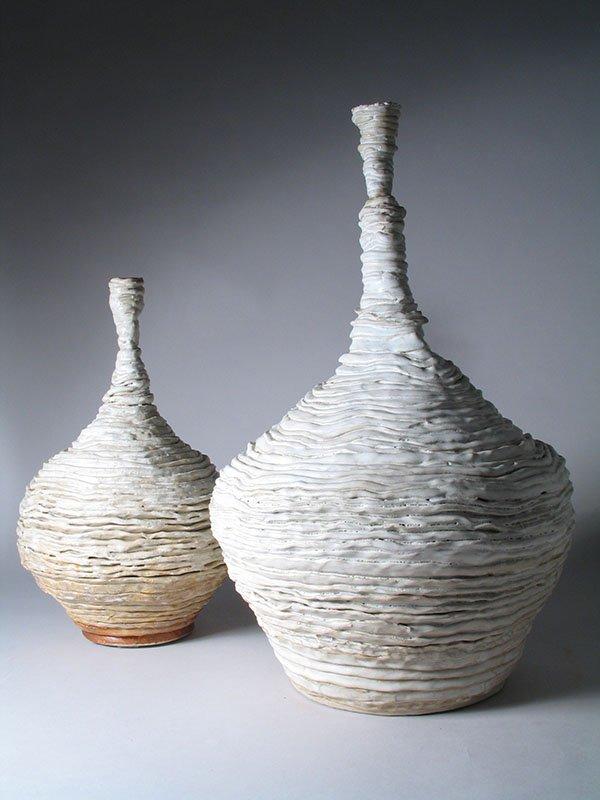 Vessels | Stoneware, oxides, white glaze