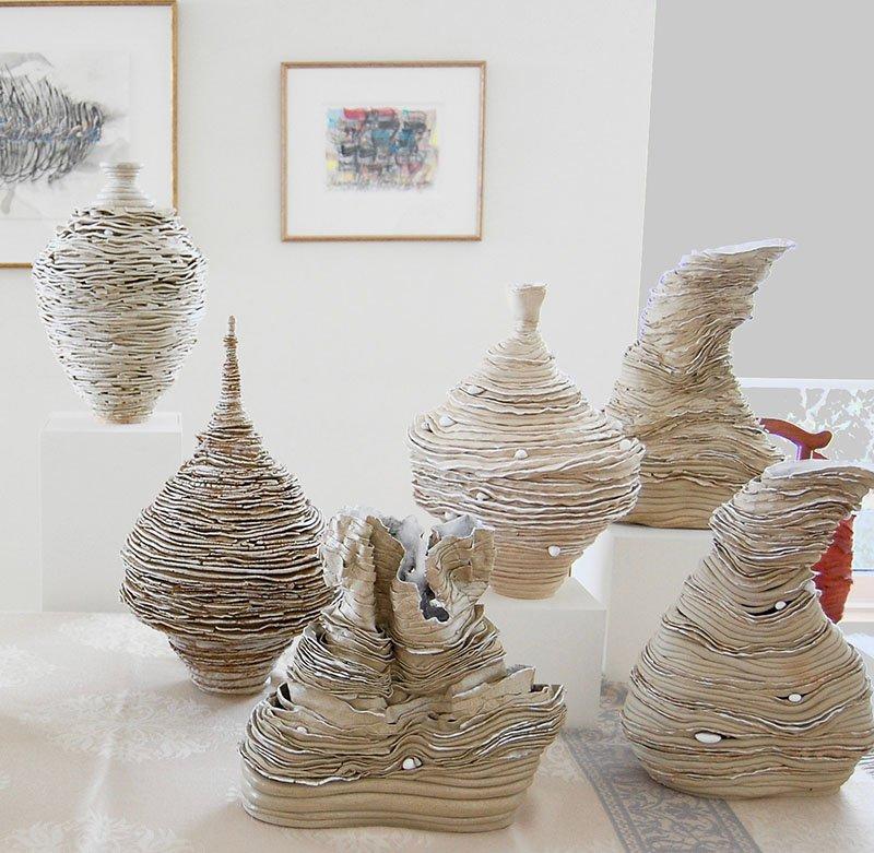 Vessels | Stoneware with white glaze