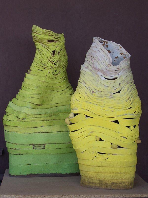 Untitled | earthenware, stains, underglazes
