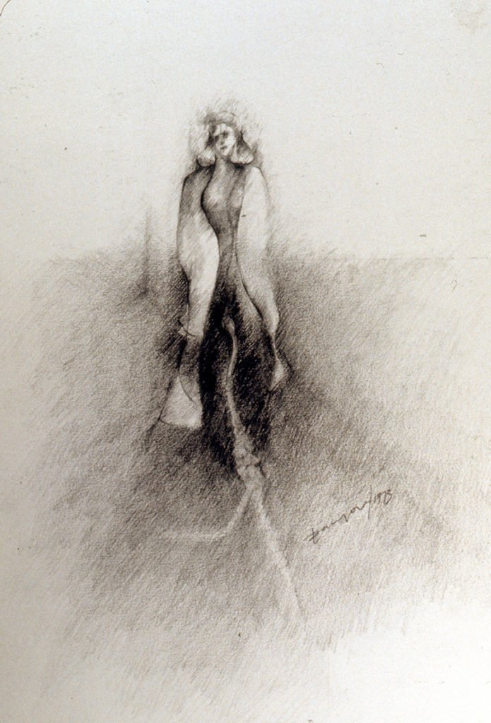 Figure|Pencil on paper