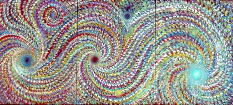 Genesis. Le Souffle Createur | Pastels on paper