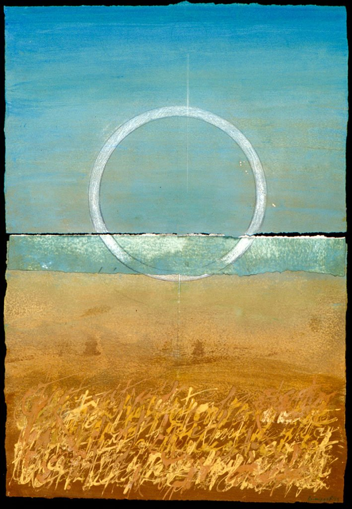 Mandala | Acrylics on paper