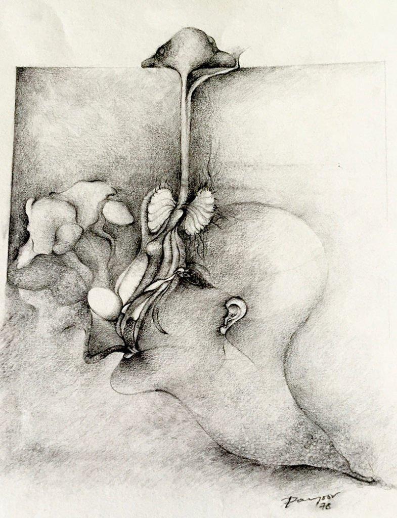 Opium | Pencil on paper